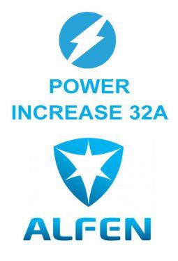 Alfen vermogen Upgrade single 20 naar 32A