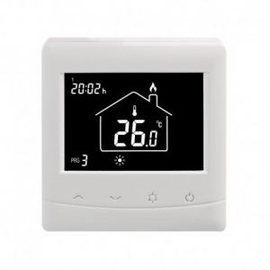 2HT-TT: Timer Thermostaat, twee applicaties in ??n, of timer of thermostaat, 230Vac, 16A spanningsvrij contact, inbouw
