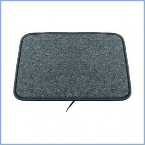 40x50cm warme voeten mat 30w, antraciet, 48V, voorzien aansluitsnoer