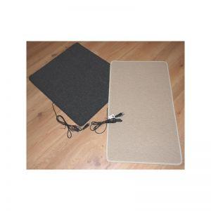 40x50cm warme voeten mat 60W-80w inclusief dimmer, antraciet of creme, 230V, aansluitsnoer met stekker en aan-uit schakelaar
