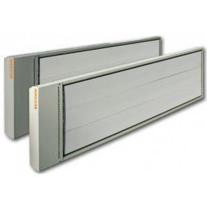 3600W hoog temperatuur infrarood heater donkerstraler 230V-400V, 1 fase of 3 fase aansluiting
