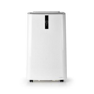 Mobiele Airconditioner | 9000 BTU | Geschikt voor ruimtes tot: 80 m³ | 2 Snelheden Afstandsbediening | Uitschakeltimer | Wit/Zwart
