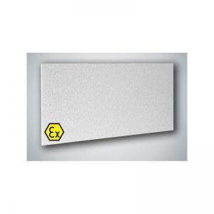 infraroodpaneel ATEX 700 Watt 230V wit 60x120cm licht gekorreld met smart switch