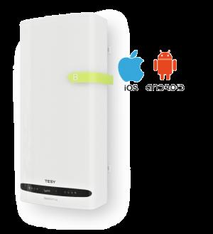 Tesy Smart Design boiler BelliSlimo Cloud 50,  40 Liter met Eco Smart Mode