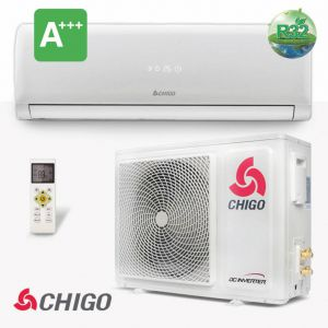 Chigo split unit airco 2.5 kW warmtepomp inverter A+++ R32 (voorgevuld)