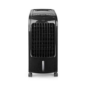 Mobiele Aircooler | Watertankcapaciteit: 3 l | 3 Snelheden | 270 m³/h | Zwenkfunctie | Afstandsbediening | Uitschakeltimer | Zwart