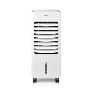 Mobiele Aircooler | Watertankcapaciteit: 6 l | 3 Snelheden | 300 m³/h | Zwenkfunctie | Afstandsbediening | Uitschakeltimer | Ioniserende functie