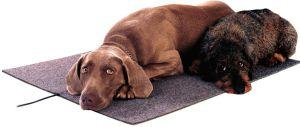 Dierenverwarmingsmat, poezen / katten verwarmingsmat, honden verwarmingsmat 24V/50 Watt, netwerk stekker 580*810 kunststof