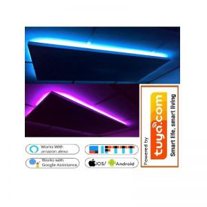 60x60cm 300W LED, korrelpaneel met ledverlichting via app te bedienen