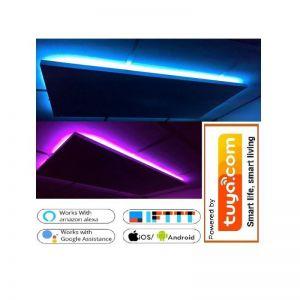 32x75cm 200W LED, korrelpaneel met ledverlichting via app te bedienen