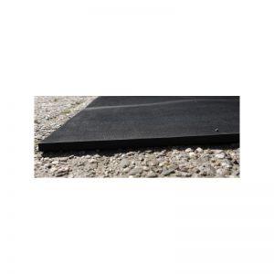 IP54 60x80cm 8mm dik 135W, 230Vac, rubberen warmtemat antislip met aansluitkabel voor outdoor