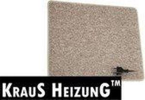 40x50cm warme voeten mat 25w, antraciet of creme, 230V, aansluitsnoer met stekker en aan-uit schakelaar