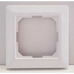 OCD4 Jung frameset wit; Frame voor de OCD4 Jung thermostaat