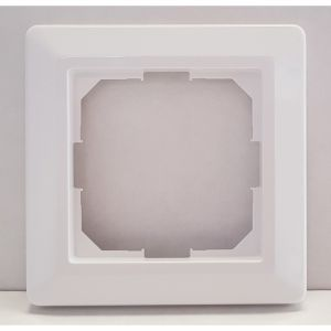 OCD5 Jung frameset wit, Frame (wit) tbv de OCD5 thermostaat