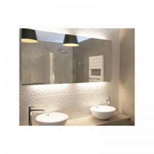 spvw-50x100cm-100W-200W/m2, spiegelverwarming dubbel geisoleerd, 230Vac