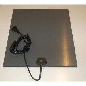 pvc celrub 60x60cm , 230V pvc warmteplaat met aansluitsnoer, kleindier verwarming