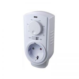 SCHLOSS plugin thermostaat electronisch mechanisch en geschikt voor verwarmen of koelen