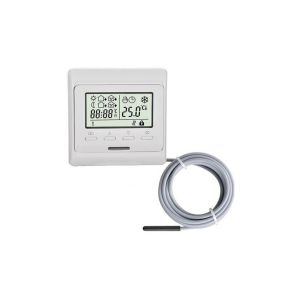 TH 73Plus thermostaat incl external sensor, inbouw programmeerbare thermostaat 230Vac