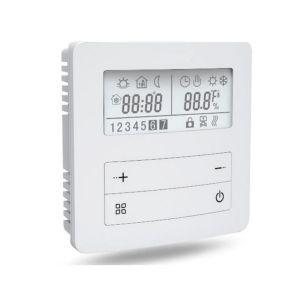 TH26 opbouw thermostaat, 16A, vloer/ruimte sensor, programmeerbaar 230Vac