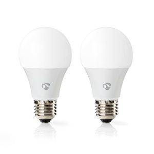 Wi-Fi smart LED-lampen | Full-Colour en Warm-Wit | E27 | 2-Pack