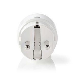 SmartLife Smart Stekker | Wi-Fi | Energie verbruiksmeter | 2500 W | Schuko / Type-F (CEE 7/7) | -10 - 40 °C | Android™ & iOS | Wit