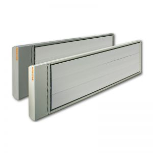 1200W hoog temperatuur infrarood heater donkerstraler Fenix Ecosun 230V, 1 fase aansluiting