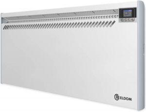 ELDOM 2500W convector, convector 230V met digitale thermostaat en open raam detectie
