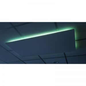 32x150cm 400W LED, korrelpaneel met ledverlichting via app te bedienen