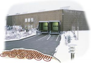 oprit-laaddok-tuinpad verwarming 50cmx500cm 250W 100W/m2 HTL met grufast profiel