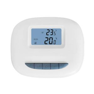 Optima W R3 Wifi en RF opbouw programmeerbare thermostaat, USB voeding, tuya compatible, inclusief RF ontvanger