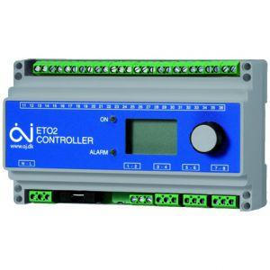 RK-OJ-3F+1N-2, regelkast 3fase 2stuks 4 polig relais 25A OJ ELECTRONICS ETO opritverwarming