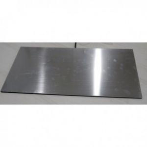 Aluminium 30x60cm 44W IPx5 230V warmteplaat met celrubber rug, voorzien van snoer met stekker geaard