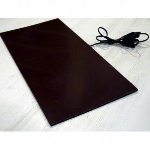 fiber 30x60cm 25W 7mm, 230V glasfiber warmteplaat met aansluitsnoer, kleindier verwarming