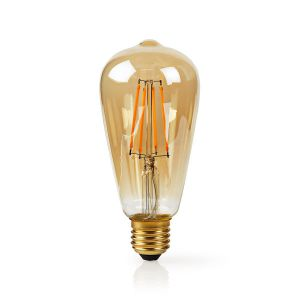 Wi-Fi Smart LED Filament Lamp | E27 | ST64 | 5 W | 500 lm