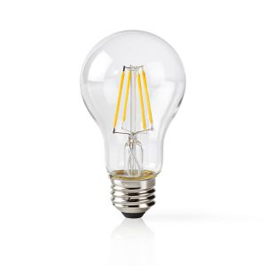 Wi-Fi Smart LED-Lamp | Filament | E27 | Wit | A60