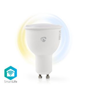 Wi-Fi smart LED-lamp | Warm- tot Koud-Wit | GU10